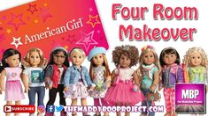 American Girl Doll Four Room Makeover