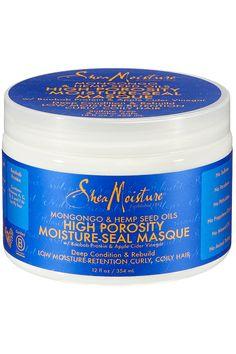 Shea Moisture Mongongo & Hemp Seed Oils High Porosity Moisture-Seal Masque 12 Ounce