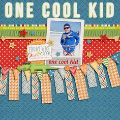 One Cool Kid - Scrapbook.com