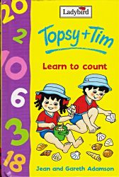 Topsy and Tim LEARN TO COUNT Ladybird Fun to Learn Book Gloss Hardback 2001