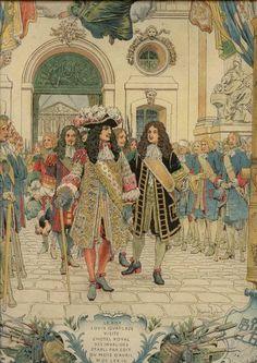 Louis XIV visite l'H