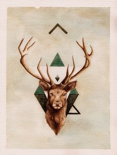Stag Tattoo | Peter Carrington
