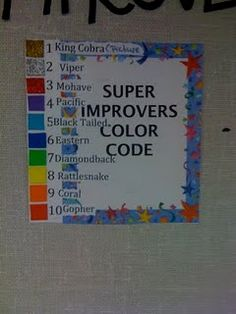 Super Improvers Wall- Whole Brain Teaching