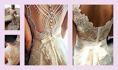 lace wedding dress | Tumblr