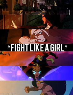 Oh, Young Justice.  So many kick-ass female characters.