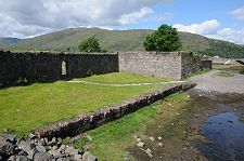 Information about and images of the Old Fort in Fort William on Undiscovered Scotland. Old Fort, Fort William, Scotland, Image