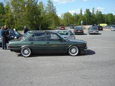BMW E28 Alpina B7 Turbo, love the wheels.