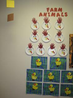 Farm Animal Art Work