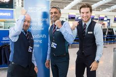 British Airways staff get in the mood by donning waistcoats at check-in desks at Heathrow airport this morning England Fans, George Cross, Get In The Mood, Twitter Trending, Football Match, British Airways, Semi Final, Saint George, Coming Home
