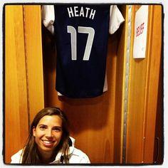 Tobin Heath #17