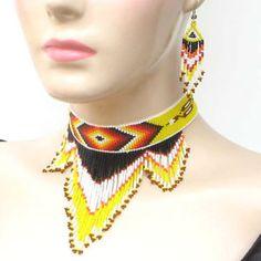 free native american seed bead patterns, loom designs