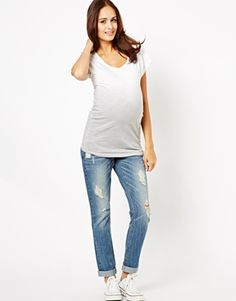 Motherhood maternity boy friend jeans   Boyfriend jeans, Boys and Keys