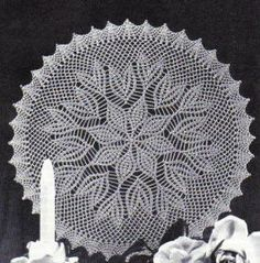 free crochet crocus cluster doily pattern, lots of Free Patterns