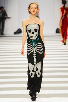 JC de Castelbajac, Fall-Winter 2012/13 Collection #skulls