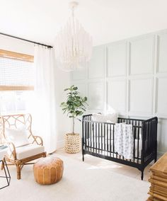 Have you guys heard of They have the most gorgeous furniture and decor pieces. Like this chair! I'll link it in stories for… Bright Nursery, Chic Nursery, Baby Nursery Decor, Nursery Neutral, Nursery Room, Nursery Modern, Nursery Ideas, Room Ideas, Decor Ideas