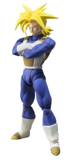 Buy Dragon Ball Z Super Saiyan Trunks Sh Figuarts Action Figure Online at Low…