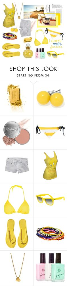 """""""oh, mama, mama, mama I just shot a man down"""" by crally ❤ liked on Polyvore featuring Christian Dior, Yves Saint Laurent, CARGO, American Eagle Outfitters, LOONEY TUNES, Full Tilt, Ray-Ban, H&M, Børn and Pineapple Seed"""