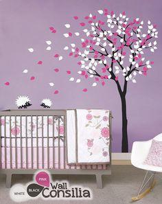 Bebé vivero Wall Decals árbol pared calcomanía por WallConsilia
