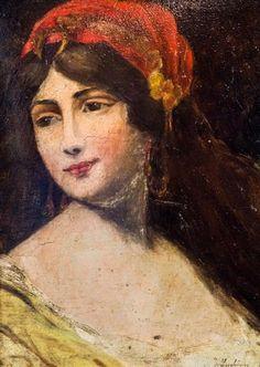 Telegraf Online Constanta - Lucrări de Tonitza, Grigorescu sau ... Art Faces, Face Art, Impressionist Paintings, Portrait Art, Figure Painting, Interesting Stuff, Monet, Art Gallery, Women's Fashion