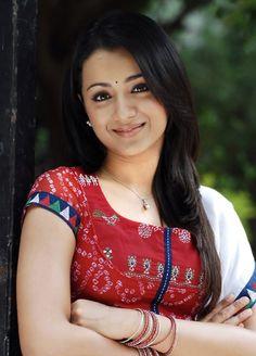 #Trisha Krishnan Beautiful Simple Pictures            http://newwallpapers.in/trisha-krishnan/