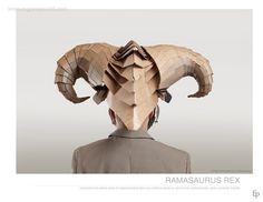 #cardboard #mask