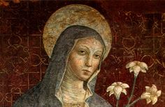 Clare of Assisi Clare Of Assisi, Umbria Italy, Pigment Coloring, Catholic Saints, Prayer Cards, Pilgrimage, Holy Spirit, Medieval, Mona Lisa
