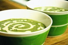 Could kale get any better? !! Delicious Creamy Kale Soup