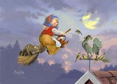 Michael Philip - illustration - Påskkort