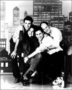 Seinfeld Cast - Kramer, Elaine, Jerry & George