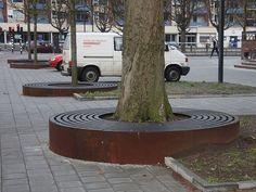 laser cut tree grate - Google Search