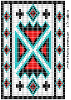 Free Native American Beadwork Patterns   Re:Possibles Bags (Information for those just starting out)