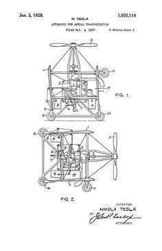 Tesla Scalar Compressor Patent Filler Idea Leg Piece
