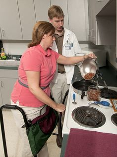 LCCC Career Program Occupational Therapy Assistant by Lewis and Clark Community College, via Flickr
