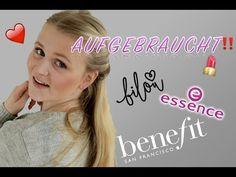 AUFGEBRAUCHT ♡ BILOU, ESSENCE & BENEFIT - YouTube