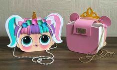 Diy Bags Purses, Diy Purse, Rainbow Dash Party, Lol Doll Cake, Felt Crafts Patterns, Girls Birthday Party Themes, Cute Cartoon Girl, Diy Hair Bows, Christmas Bags
