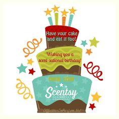 Happy birthday from your #ScentsyConsultalt. #ScentsyFlyer #HappyBirthday