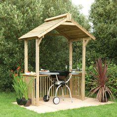 Forest Garden BBQ Shelter | Notcutts | Notcutts