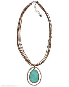 oooo...heaven and earth around your neck in bronze and sterling and brilliant howlite.... $ 129 - N1804
