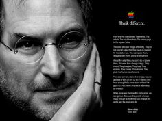 The man who thought different.
