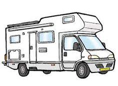 R sultat de recherche d 39 images pour train dessin couleur french reception pinterest - Camping car a colorier ...