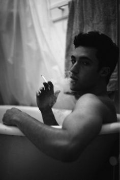 there is something sexy about a guy who smokes....initally