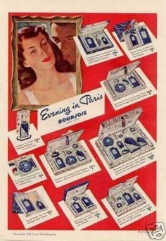 Bourjois Evening In Paris Perfume (1942) I remember this from the 5 & Dime Stores in the 60's.