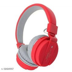 Wired Headphones & Earphones Editrix Sh12 Wireless Bluetooth Headset (Red) Product Name: Editrix Sh12 Wireless Bluetooth Headset (Red) Brand Name: Editrix Material: Plastic Product Type: Foldable over the head Type: Over The Ear Compatibility: All Smartphones Multipack: 1 Color: Red Mic: Yes Bluetooth Version: 4.1 Warranty_Period: 1 Month Brand Warranty Warranty_Type: Carry In Operating Voltage: 10 Volts Charging Type: Micro USB Battery Charge Time: 1 Hour Battery Backup: 6 Hours Frequency: 10 Hz Control Button: Yes Play Time: 10 Hours Dynamic Driver: 30 mm Transmission Distance: 10 Mtr Noise Cancelling: No Service Type: Repair or Replacement Sports Earphones: Yes Sweat Proof: Yes Water Resistant: No Sizes:  Free Size Country of Origin: India Sizes Available: Free Size   Catalog Rating: ★4.1 (1323)  Catalog Name: Editrix Bluetooth Headphones & Earphones CatalogID_2392796 C97-SC1375 Code: 374-12424887-0411
