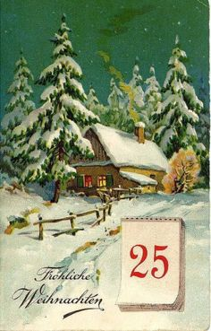 Vintage Christmas Cards : Posted by Gillian Hammerton.