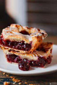 Slab Pie de Cerejas ou a minha torta preferida!