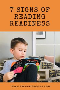 7 Signs of Reading Readiness - Zwannie Books Learn To Read, Love Book, Phonics, Parenting Hacks, Your Child, Childrens Books, Literacy, Activities, Signs