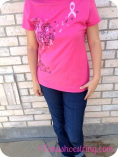 Win a pair of jeans from @Staci Salazar {7 on a Shoestring} and help fight breast cancer!