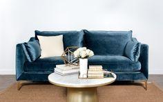 Caitlin by The Everygirl Custom Apartment Sofa - Interior Define
