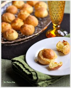 Parmesan Gourgeres - these are delicious and easy to make.