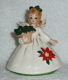 Vintage 'Josef Originals' Christmas Angel Figure by crazy4me, $45.00